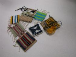 Image of weaving samples